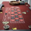 6Roulette table